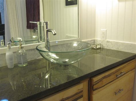what are bathroom countertops made of granite