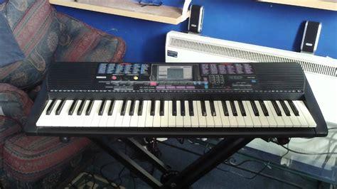 yamaha psr  keyboard  demonstration songs youtube