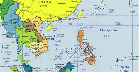 peta asia tenggara lengkap peta dunia sejarah