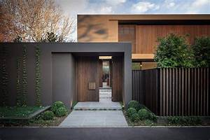 maison design avec des couleurs chaudes entree maison With entree de maison design 8 maison contemporaine avec piscine interieure apla