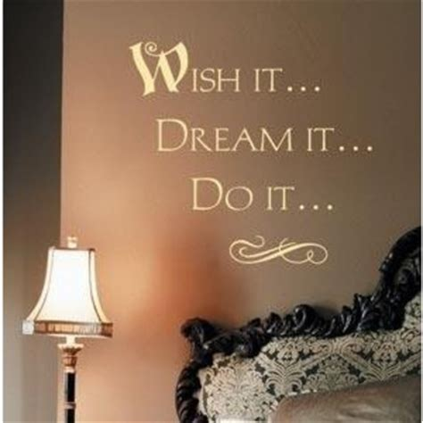 interior idea   decorative words