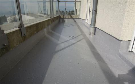 Terrasse Abdichten Flüssigkunststoff by Balkon Abdichten Flexobau Heimberg Ag