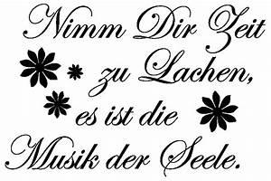Nur Die Transparent : wandtattoos zitat zt0027 musik der seele wandaufkleber von ~ Eleganceandgraceweddings.com Haus und Dekorationen
