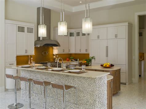 bronze kitchen faucet square pendant light kitchen contemporary with city view