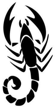 tribal scorpion tattoos scorpion tattoo
