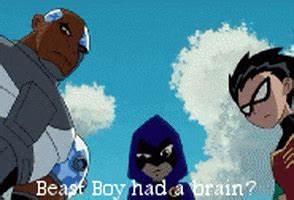 Teen Titans Rav... Beast Boy Quotes