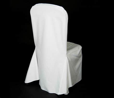 wedding chair cover white premium fabric