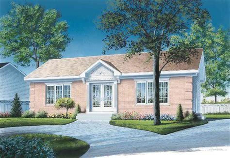 Simple 2 Bedroom House Plan