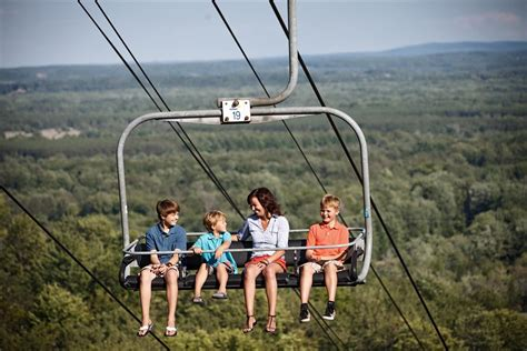 scenic chairlift rides at mountain michigan
