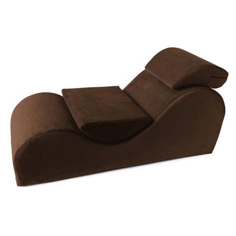 Liberator Esse Sensual Lounge Chair  Espresso Sofas