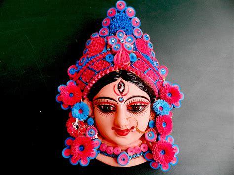 Quilled Durga Maa Mask!!