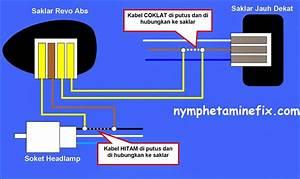 Wiring Diagram Lampu Kepala Supra 125