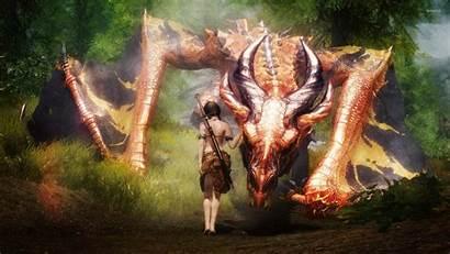 Dragon Wallpapers Fantasy Taming Epic Skyrim Monster