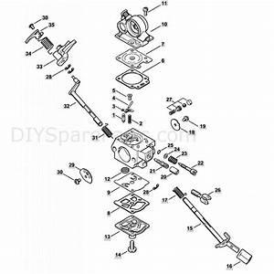 Stihl Ms 362 Chainsaw  Ms362  U0026 C  Parts Diagram