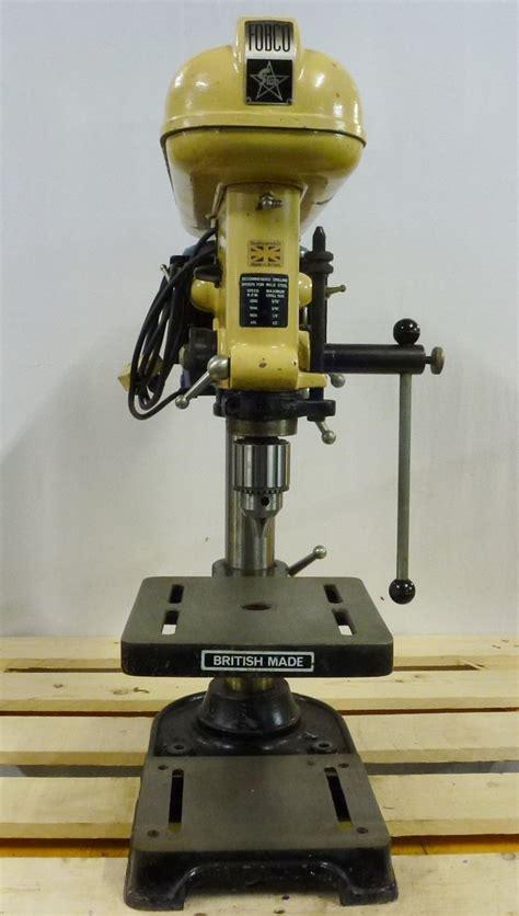 fobco star  bench drill pennyfarthing tools