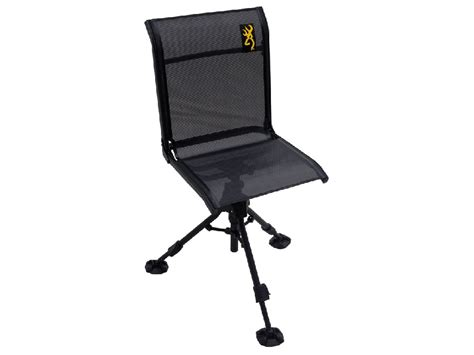 Ground Blind Chair Walmart browning shadow x swivel ground blind chair mpn