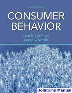 Consumer Behavior 11th Edition Schiffman Solutions Manual