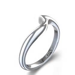 14K White Gold Wedding Rings for Women