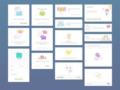 news portal concept sketch freebie