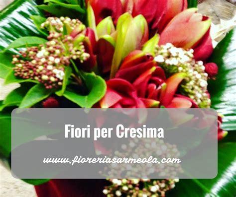 fiori per fiori per la cresima
