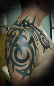 Half Sleeve Tattoos Tribal Drawings | Half sleeve tribal ...