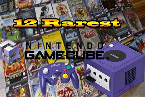 Top 10 Rarest Game Cube Games
