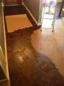 1000 images about brown paper bag flooring walls on With brown paper bag floor on concrete