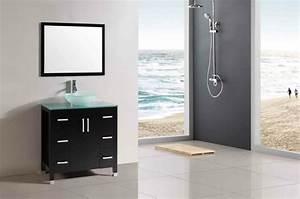Petit Meuble Vasque : meuble salle de bain faible profondeur conseils pratiques ~ Edinachiropracticcenter.com Idées de Décoration