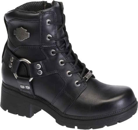 best motorcycle boots for women harley davidson women 39 s jocelyn 5 5 in black leather