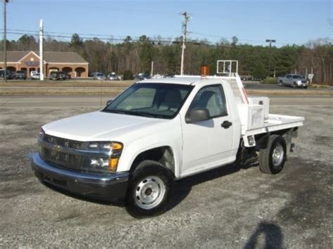 14372 chevy colorado bed sell used 2007 chevrolet colorado flat bed service in