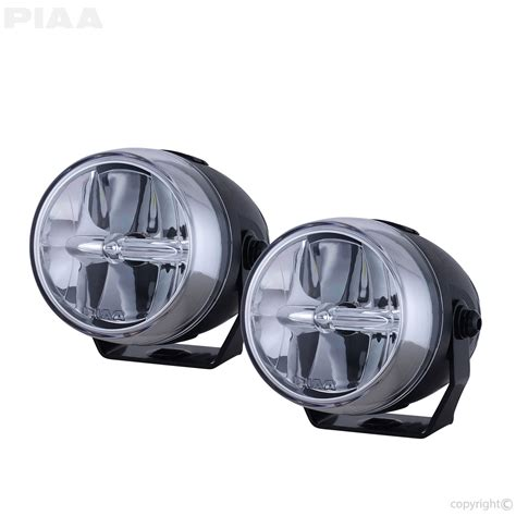 Led Motorcycle Driving Lights by Piaa Lp270 2 75 Quot Led Fog Light Kit Sae Compliant 73270