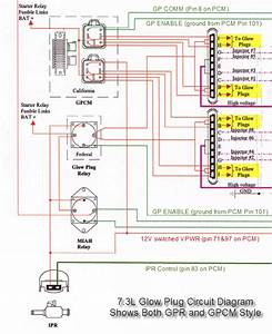 2006 F250 Diesel Glow Plug Wire Diagram