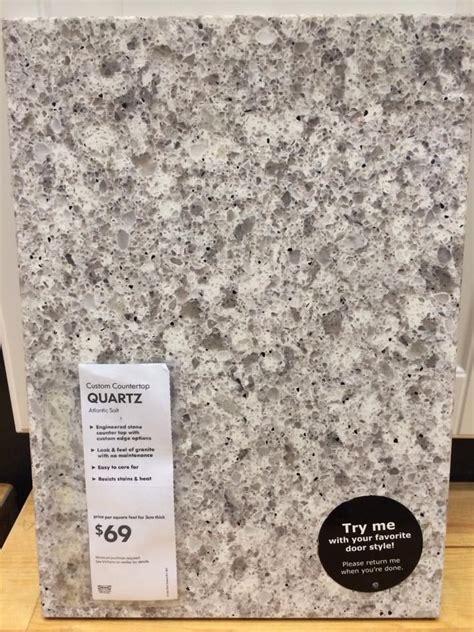 ikea quartz countertops quartz kitchen countertop from ikea renovation ideas