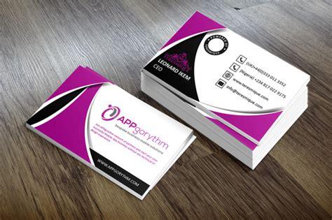 design creative unique business card   nixin