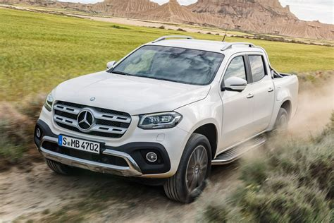 Mercedes-benz X-class 'posh Pick-up' Priced From £32,772