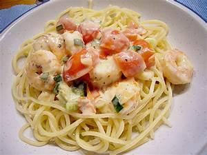 Pasta Mit Garnelen : spaghetti mit garnelen rezept mit bild von mamatuktuk ~ Orissabook.com Haus und Dekorationen