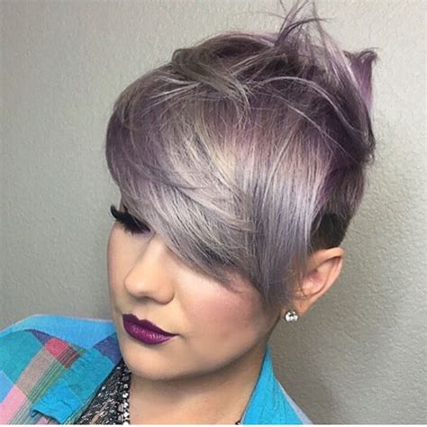 magnifiques couleurs pour vos cheveux courts tendance