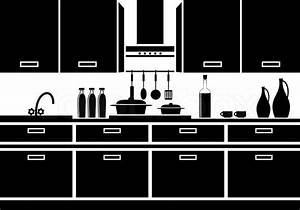 Icon Of Kitchen Stock Vector Colourbox