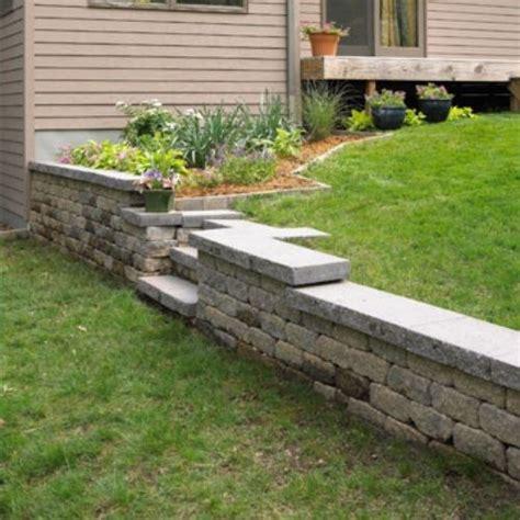 stützmauer bauen anleitung st 252 tzmauer garten selberbauen aus stein st 252 tzmauern