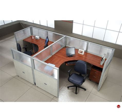 two person l shaped desk the office leader 2 person l shape office desk cubicle