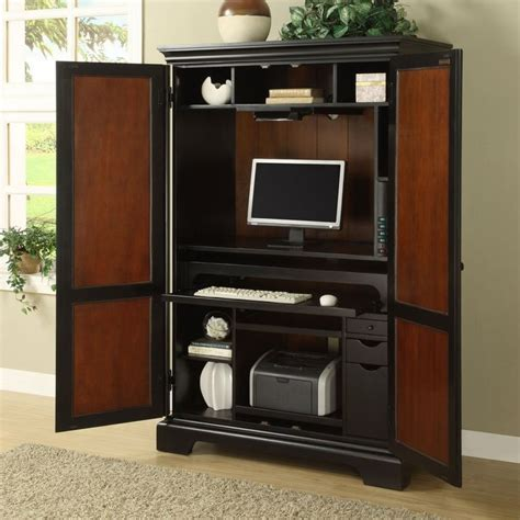 1000+ Ideas About Computer Armoire On Pinterest Gaming