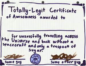 certificate of awesomeness by vampiricyoshi on deviantart With certificate of awesomeness template