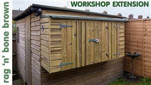 Building The Workshop Shed Extension  Part 1 Of 2
