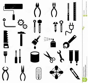 Tools - Vector Icons Royalty Free Stock Photos - Image