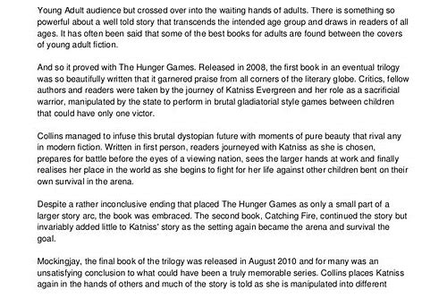 the hunger games free ebook download pdf