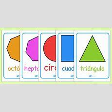 Formas Geométricas 2d  Póster  Formas, Geometría, Cuadrado, Círculo