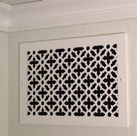 Decorative Wall Air Return Grilles by Wall Air Return Vent Covers Quotes