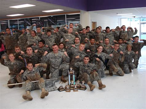 jrotc wins riverside competition valley