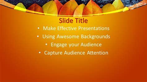 Free Modern Autumn PowerPoint Template Design - Free ...