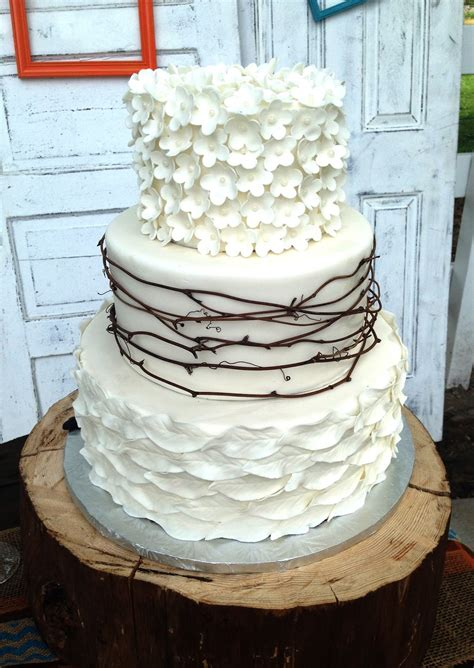 The Cake Market Rustic Wedding Cake